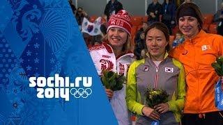 Ladies' Speed Skating - 500m - Lee Wins Gold | Sochi 2014 Winter Olympics