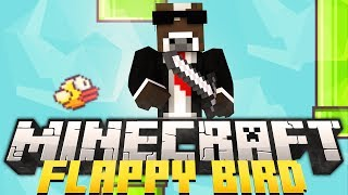 Minecraft FLAPPY BIRD Minigame (Flappy Bird in Minecraft)