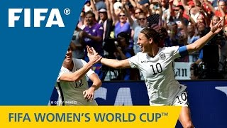 Women's World Cup TOP 10 GOALS: Carli Lloyd (USA v. Japan) - Duration: 0:36.