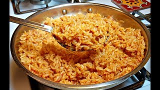 How to Make Mexican Rice | The Perfect Mexican Rice | Spanish Rice Recipe