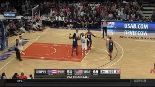 USA  vs Puerto Rico Fiba World Cup 2014 Rico Closer than expected First half  thoughts