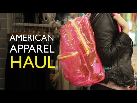 Lily's American Apparel Summer Haul | 25% off with Grazia