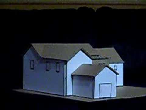 maison maquette en carton youtube. Black Bedroom Furniture Sets. Home Design Ideas