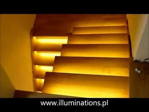 Oświetlenie schodów - sterownik - taśmy led - inteligentny sterownik schodowy