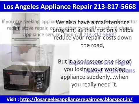 youtube video Los Angeles Appliance Repair 213-817-5668 to 3GP conversion