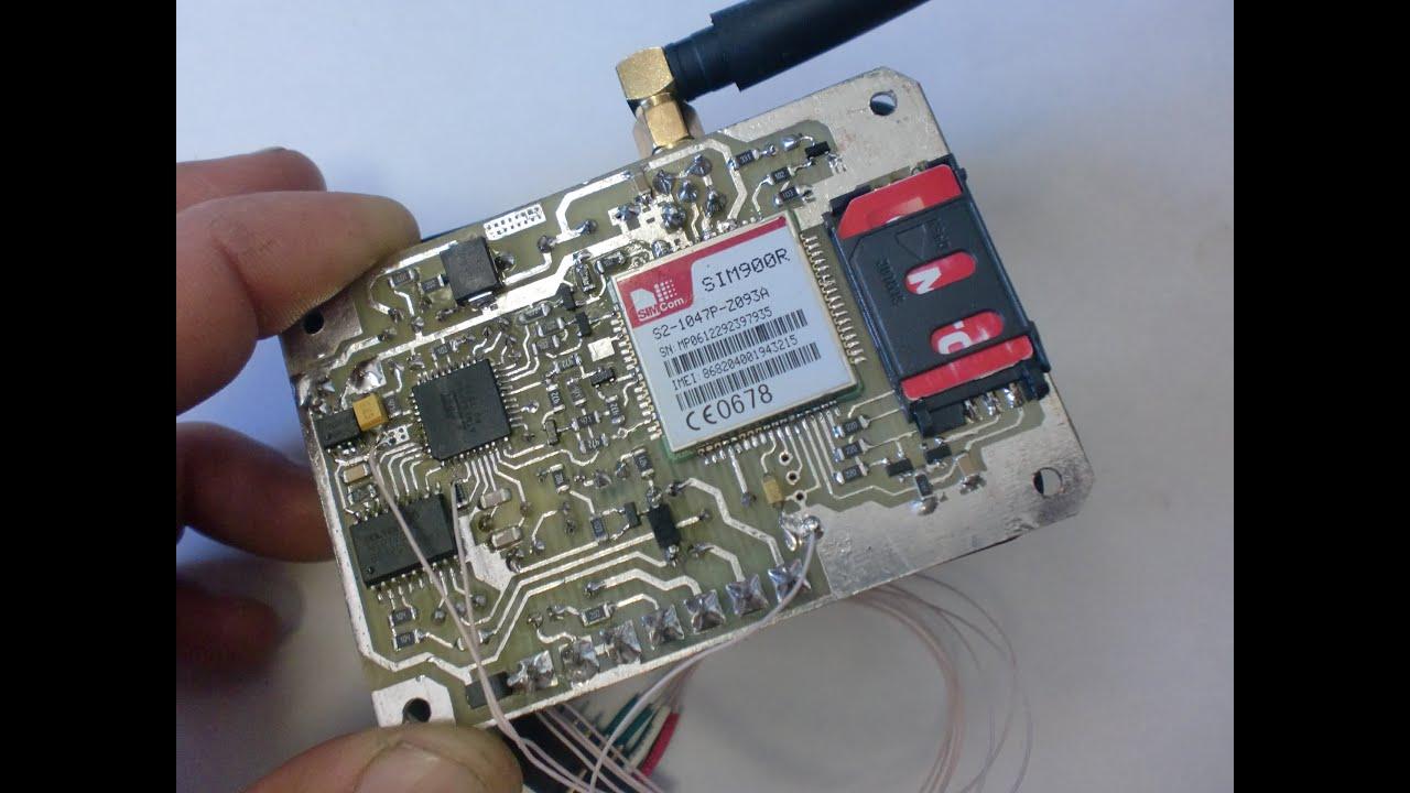 GSM выключатель. Дистанционное управление по сотовой 952