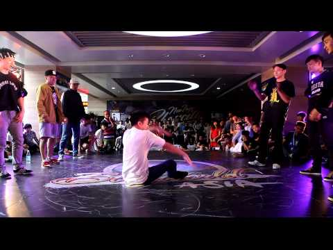 BBoy 5 on 5 EVOLUTION JUNIOR vs DUST BREAKERZ│China Prelim of New Taipei Bboy City 2014