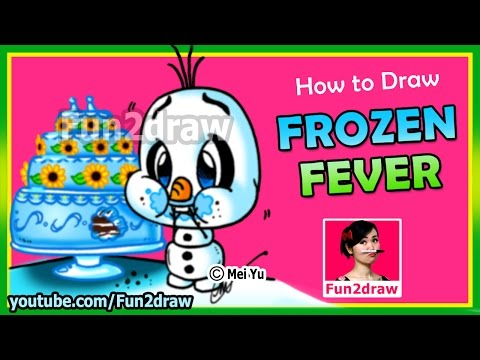 How to Draw A Olaf From Frozen - Fun2draw