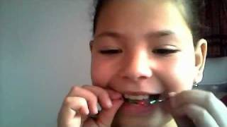 How To Make Fake Braces With A Bobby Pin And Candy Raper