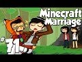 Minecraft Marriage Ep.71 | A Musical Rainy day!