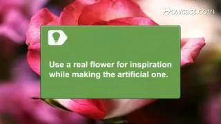 How To Make Silk Flowers