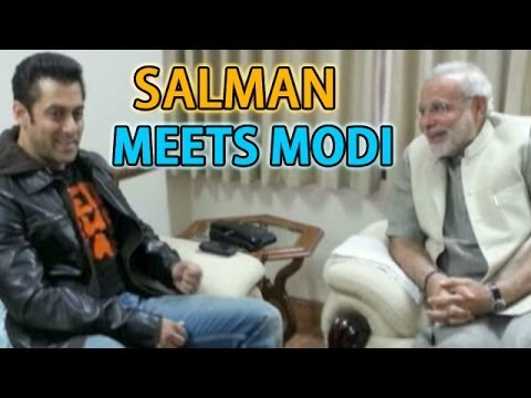 Salman Khan joins Narendra Modi in Makar Sankranti celebrations
