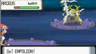 Pokemon Diamond/Pearl: The Ultimate Legendary Pokemon Arceus