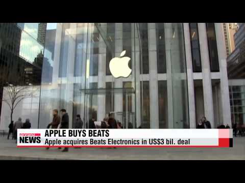 Apple buys Beats Electronics in $3 bil. deal