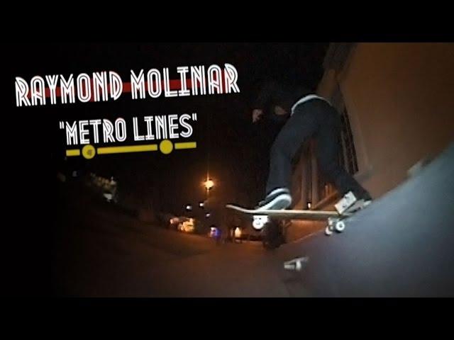 "Raymond Molinar's ""Metro Lines"" Part"