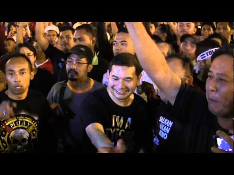 (Himpunan Turun) Rafizi Ramli: Kalau Najib Tak Turunkan Harga Barang, Kita Turunkan Najib