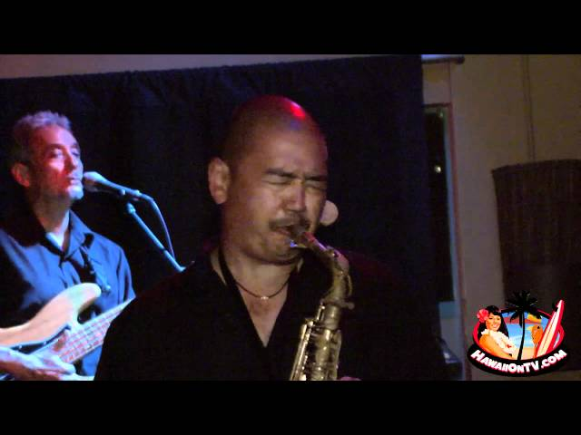 Slam Jazz Band Maui with David Choy at Stella Blues