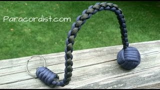 Paracordist How To Tie The Snake Knot And Crown Knot To
