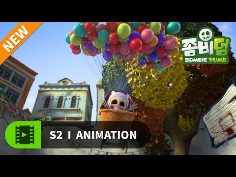 NEW | 좀비덤 시즌2 | EP52 우리는 하나 | Funny Cartoon | 좀비 | 할로윈 | 개그 | 코믹 애니메이션