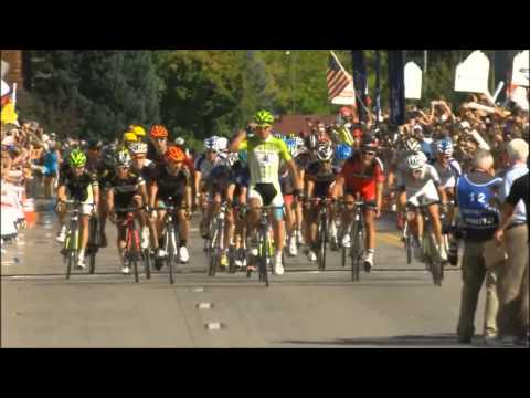 Peter Sagan the fastest man at the USA Pro Challenge (highlights)