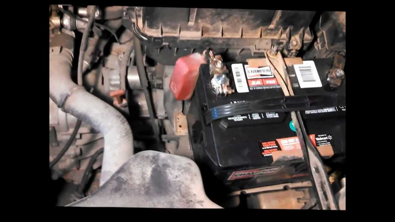 How To Replace Starter Motor Toyota Corolla