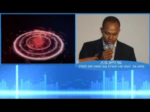 ESAT Special program - phone Interview with Zemen Kase Nov 20 2013