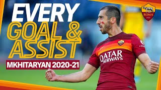 HENRIKH MKHITARYAN | Every goal and assist | SERIE A 2020-21