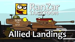 Tanktoon - Vylodenie spojencov