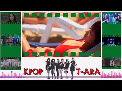 Những hot girl T-ARA mặc Bikini trên bãi biển đẹp - Bản full HD