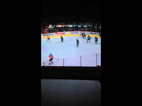 Philadelphia Flyers vs Minnesota Wild 12/2/2013 part 3