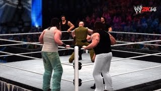 WWE Elimination Chamber 2014 The Shield Vs The Wyatt