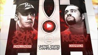 WrestleMania 31: John Cena vs. Rusev Preview