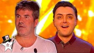Golden Buzzer Magician Leaves Judges In Tears After Emotional Audition On Britain's Got Talent 2018