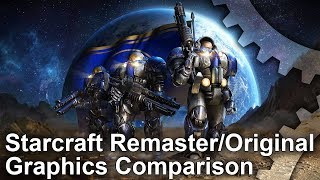 StarCraft: Remastered - Remaster vs Original Graphics Comparison