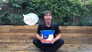 Benedict Cumberbatch's Ice Bucket Challenge for MND