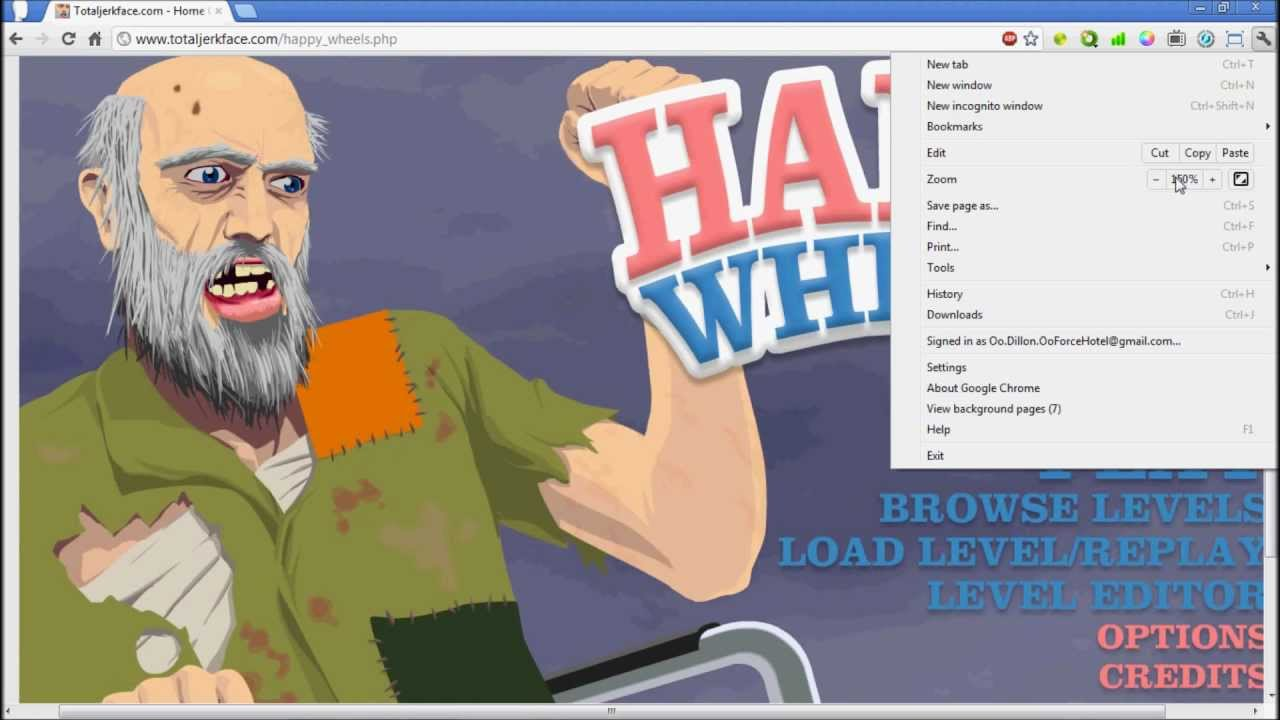 Come Happy Wheels Completo