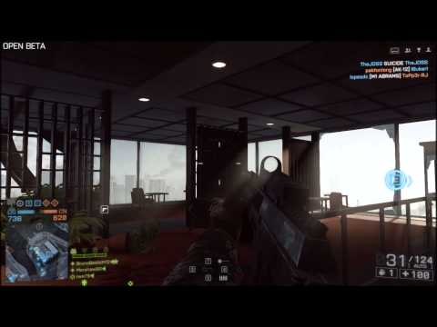 Battlefield 4 [Closed Beta] Quick frags / Multiplayer/ Gameplay BR