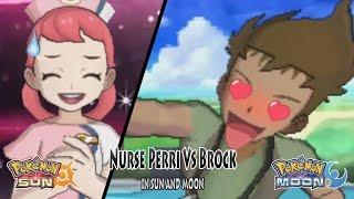 Pokemon Sun and Moon: Nurse Perri Vs Brock (Pokemon Battle Tree Perri)
