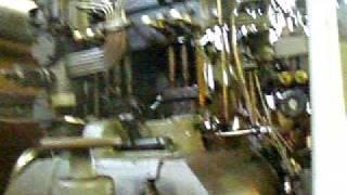 M.A.N. U-boat Diesel Engine Running