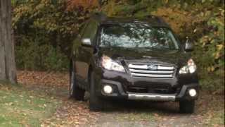 2013 Subaru Outback - Drive Time review with Steve Hammes videos