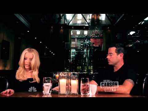 Amber Heard on Last Call with Carson Daly