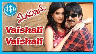 Vaishali Vaishali Song Mirapakay Movie Songs Ravi Teja