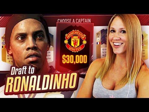 INSANE MANCHESTER UNITED PLAYER PACKED! DRAFT TO RONALDINHO #19  FIFA 18