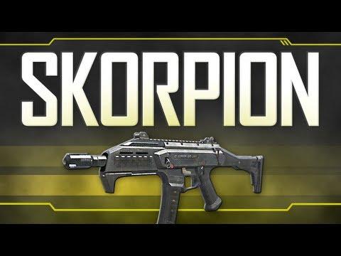 Gold Scorpion Black Ops 2 Skorpion Evo Black Ops 2