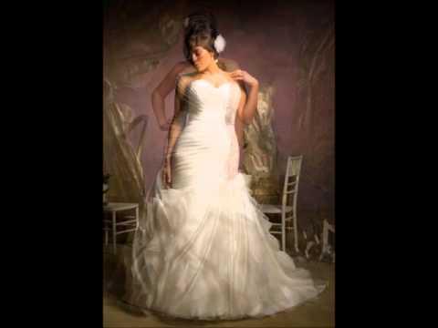 Vestidos de Novia para Gorditas - Modelos y Tendencias 2014