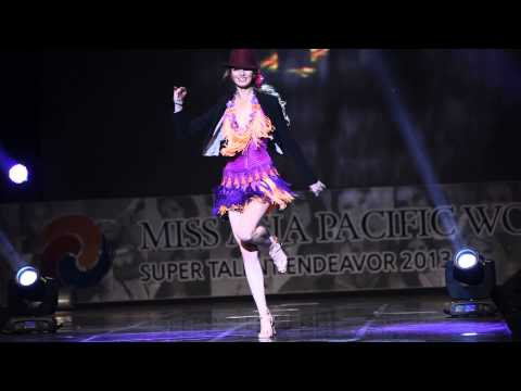 Miss Russia Ekaterina Grushanina Talent Show of Miss Asia Pacific World 2013