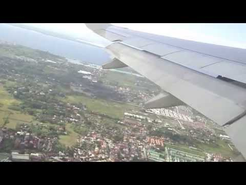 Mactan-Cebu International Airport take off