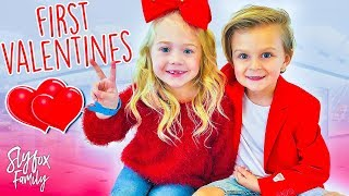 Caspian and Everleigh's First Valentine Date!! ❤️   Slyfox Family