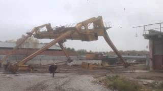 How to Demolish a Crane in Russia