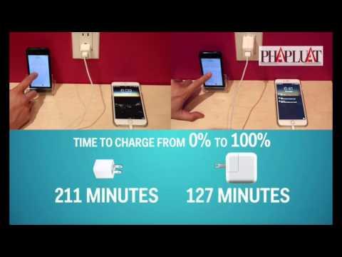 Tuyệt chiêu sạc nhanh cho smartphone